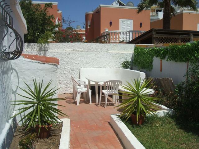 Outdoor seating area - Number 83 Los Arcos, Playa del Ingles, Gran Canaria